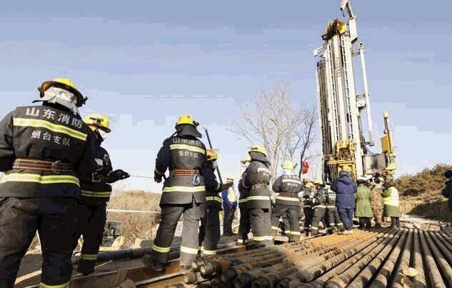 栖霞金矿事故救援最新进展:预计主井救援通道打通仍至少需要15天时间