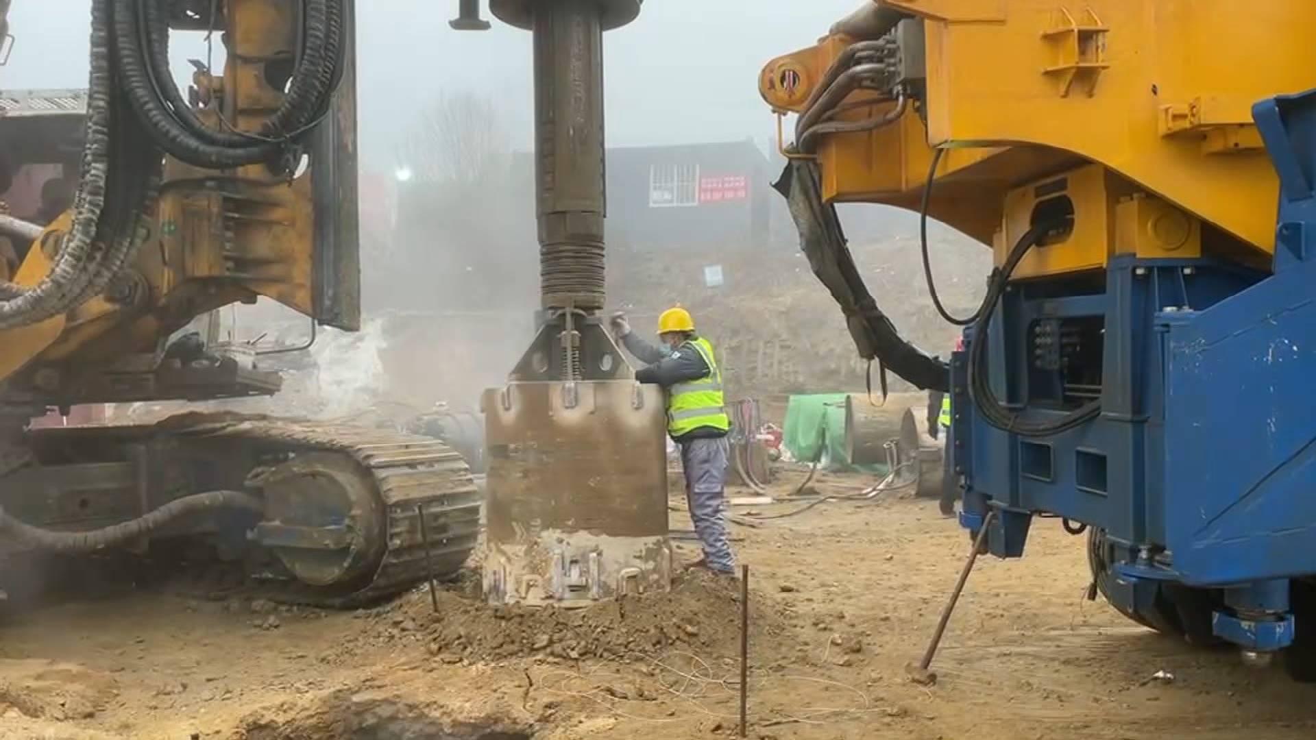 栖霞金矿事故救援最新进展:10号救生孔已打钻深度18米