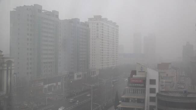 """53秒丨弱冷空气来""""解围"""" 潍坊能见度1月25日起逐渐改善"""