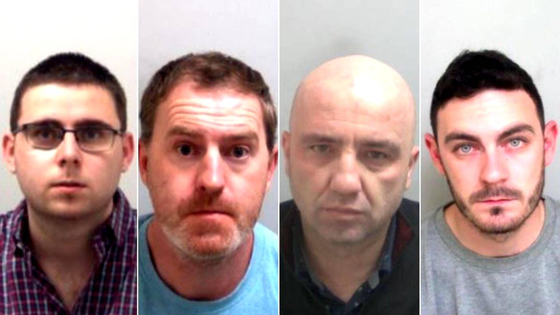 54秒丨最高获刑27年!英国集装箱藏尸案4名共犯被判刑 最大主谋仍在逃