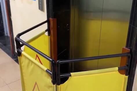 青岛一小区交房一年电梯故障上百次?高层居民出行难