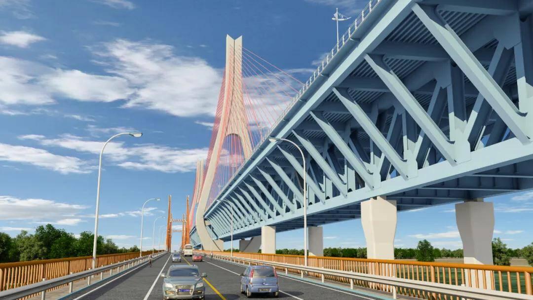 """重磅!五位一体""""超级""""交通综合体来了:济南黄河大桥新桥设计出炉 零点立交拟拆除新建"""