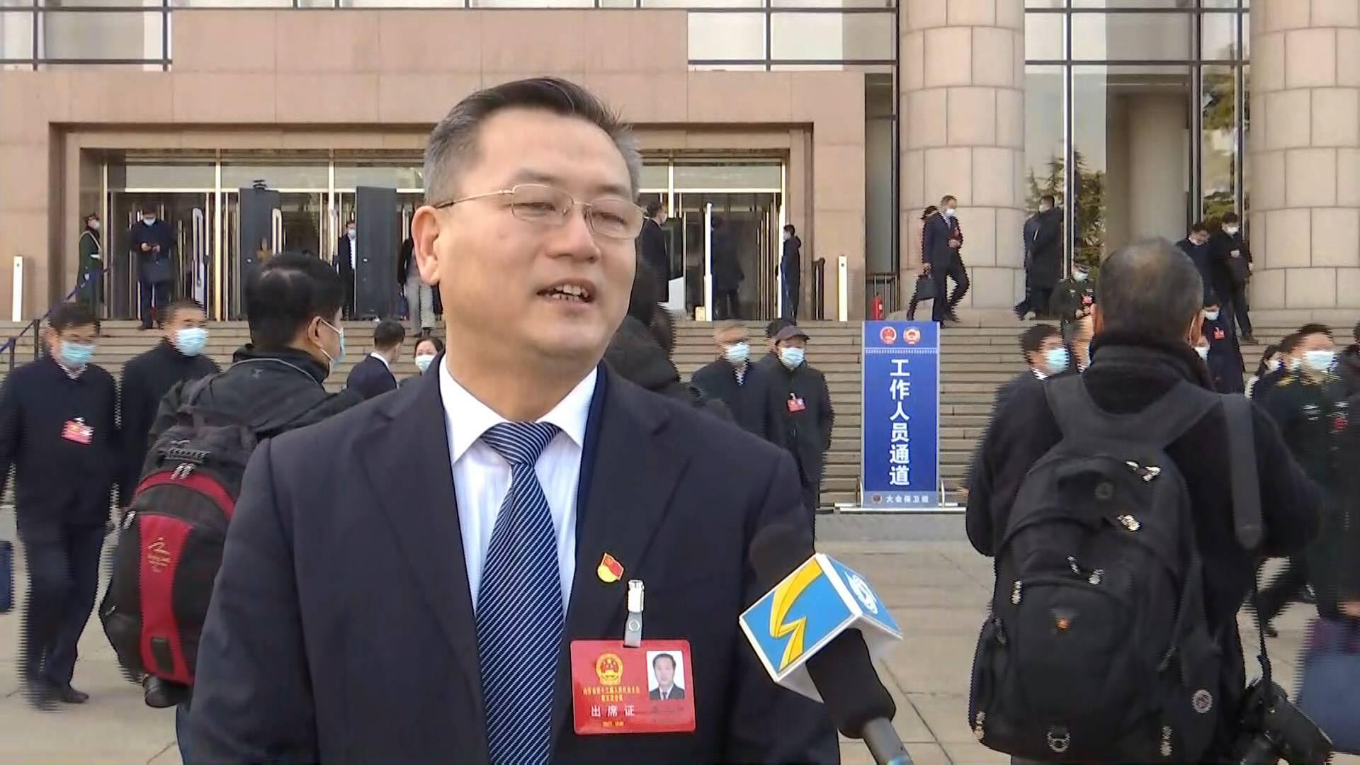 聚焦2021山东两会丨省人大代表张龙江:全力抓好链长制 推动区域经济高质量发展