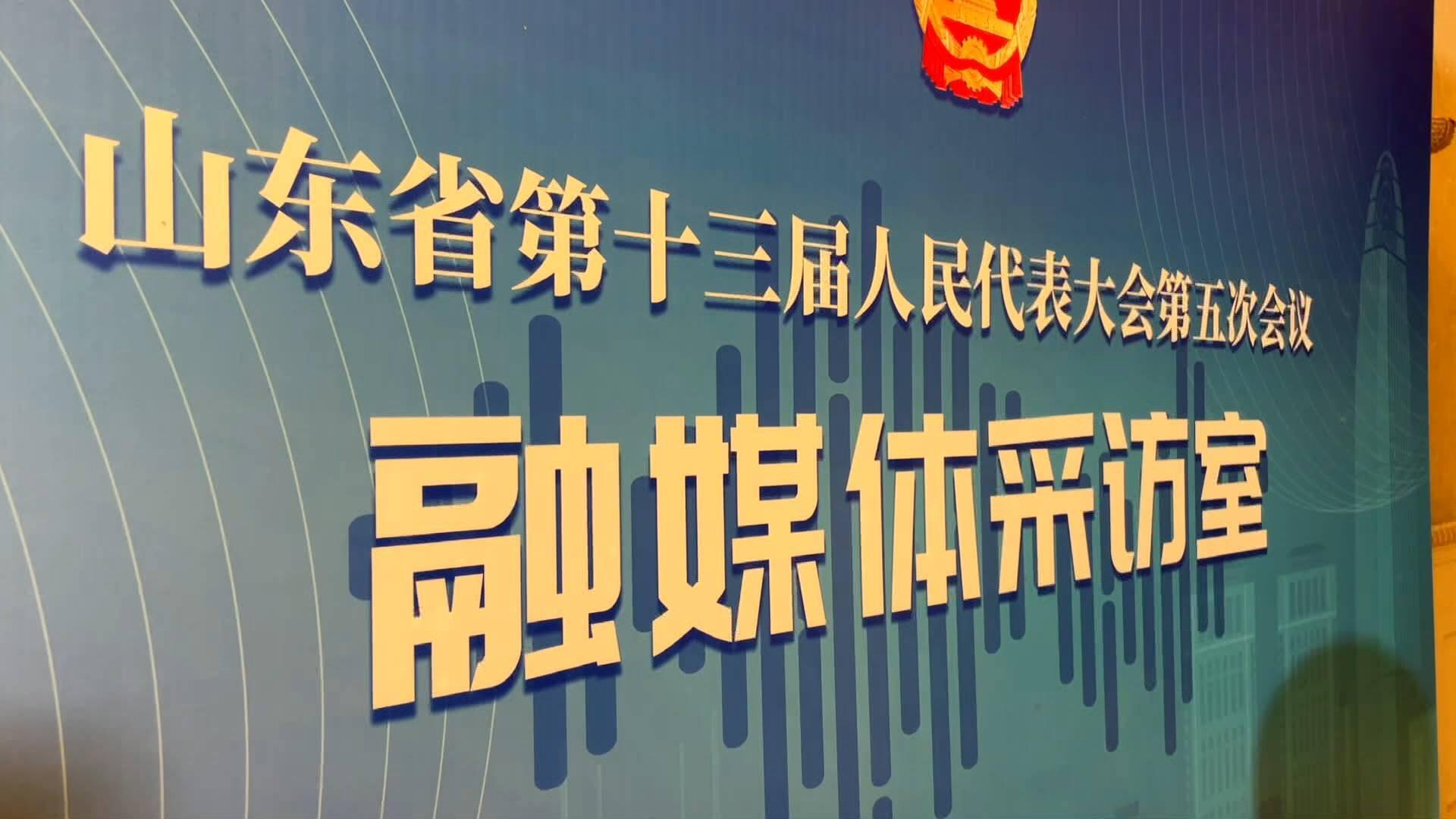 山东省两会代表住地融媒体采访室来啦!省人大代表:便捷、参与度高,还能启发思路
