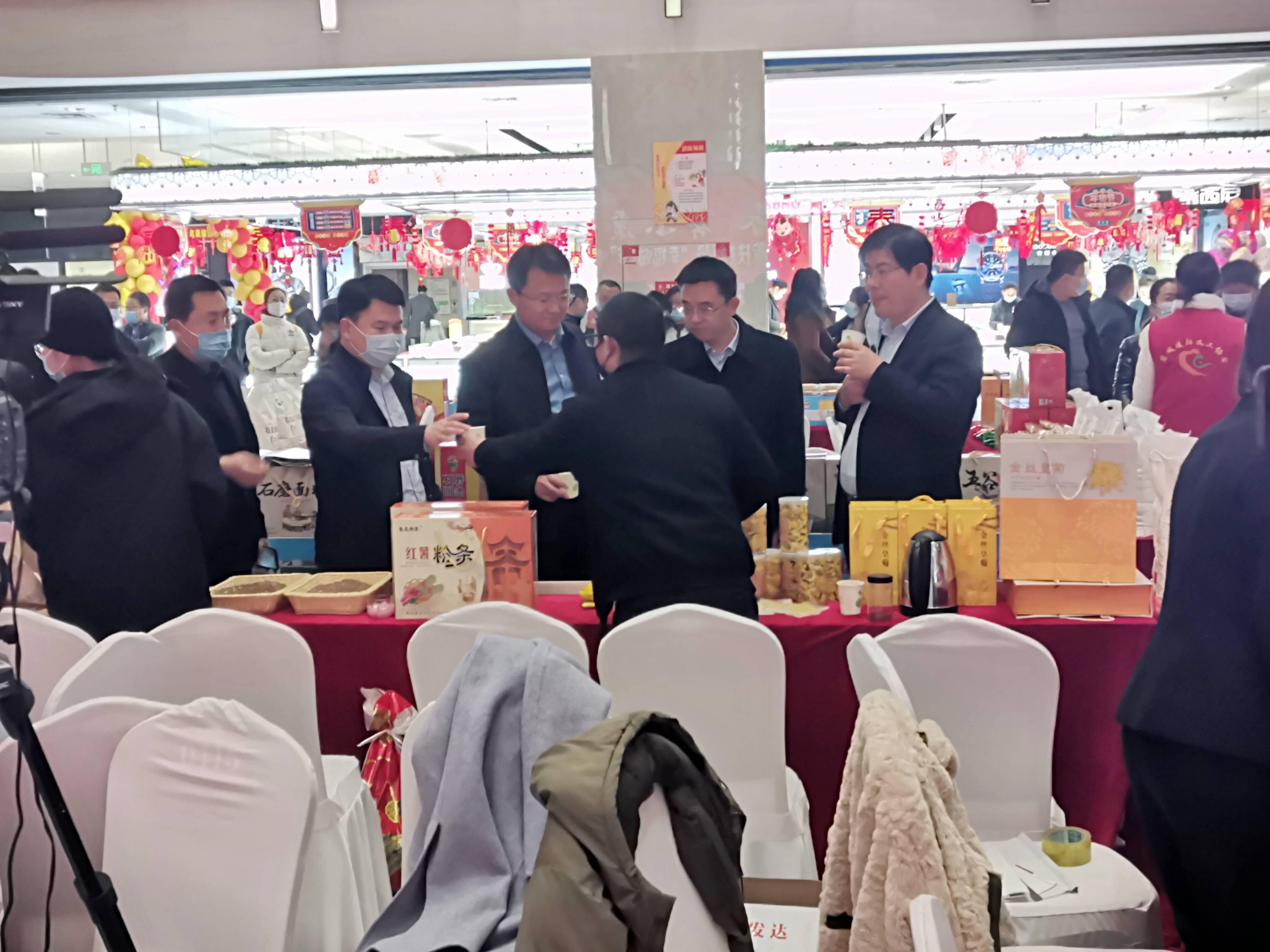 120余种产品多次卖断货,枣庄薛城区消费扶贫产品展销挺火爆