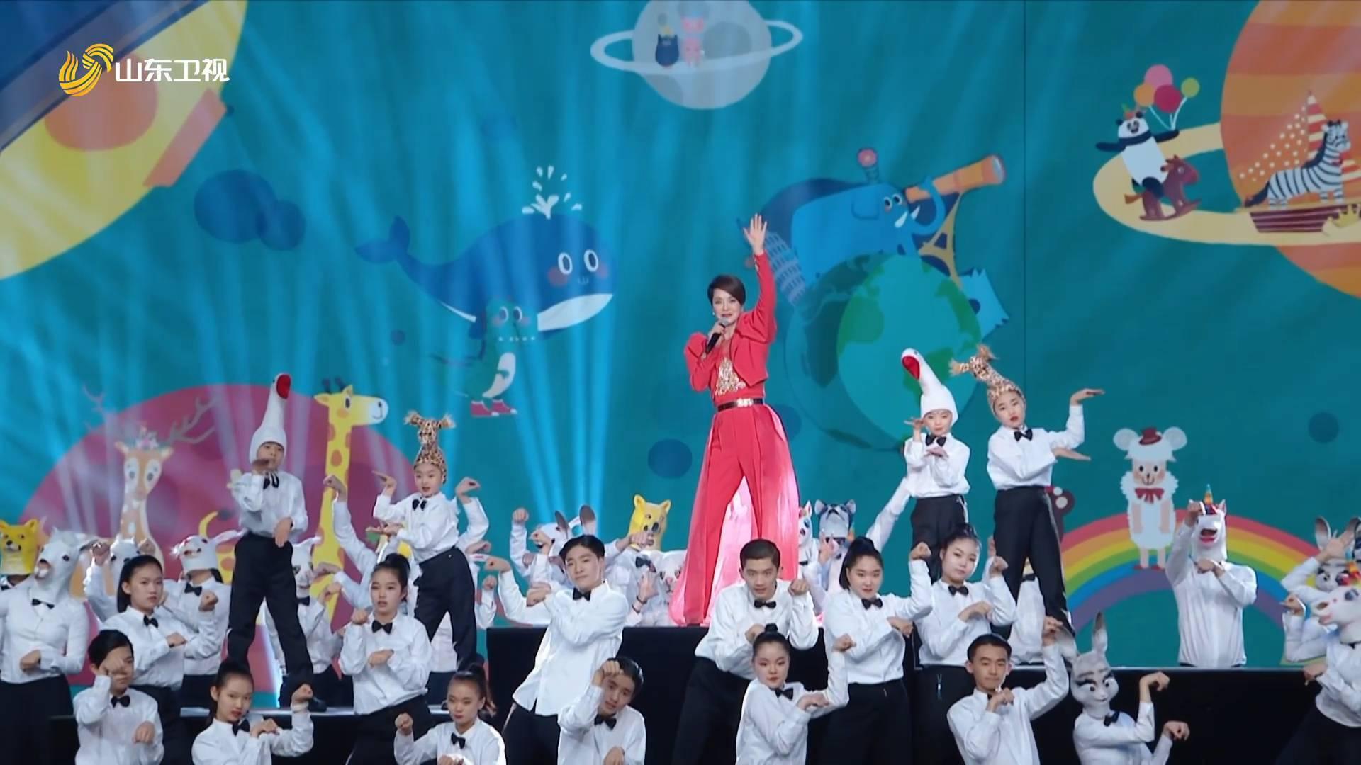 2021山东春晚丨天籁嗓音气场全开 毛阿敏颠覆演唱新作《声声不息》
