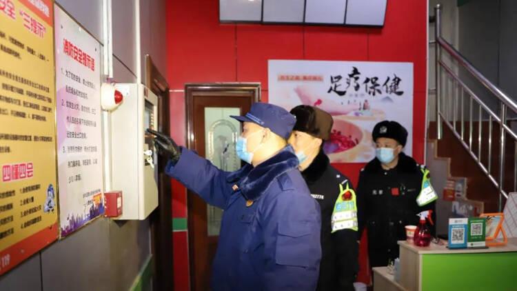 """37秒丨护航春节! """"起底式""""治安大清查 滨州无棣警方在行动"""