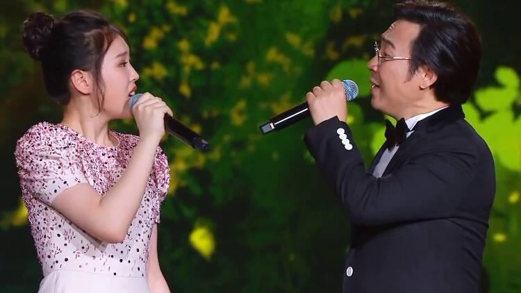 2021山东春晚丨满满的幸福感 廖昌永、廖敏冲父女同台演绎《春日偶成》