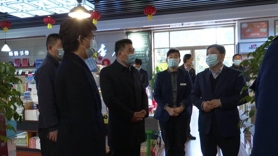 31秒丨安全生产和疫情防控不放松,滕州组织检查春节文化旅游市场