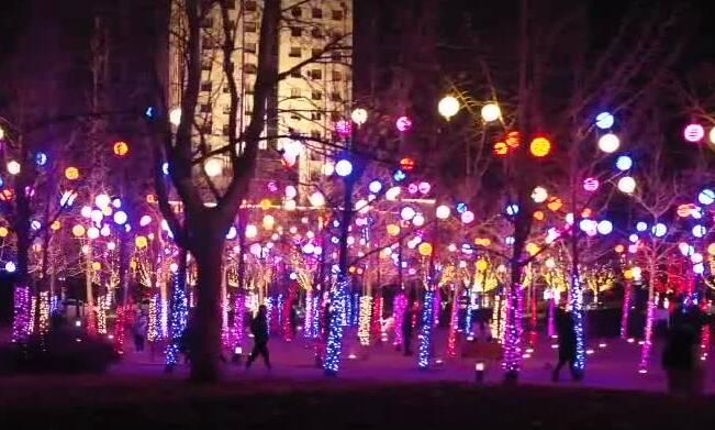 山东多地新春灯光秀被央媒cue到了!璀璨夜景,你看到了吗?