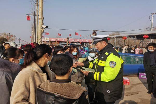 累计出动2.6万警力!春节假期前两日山东交通安全形势平稳