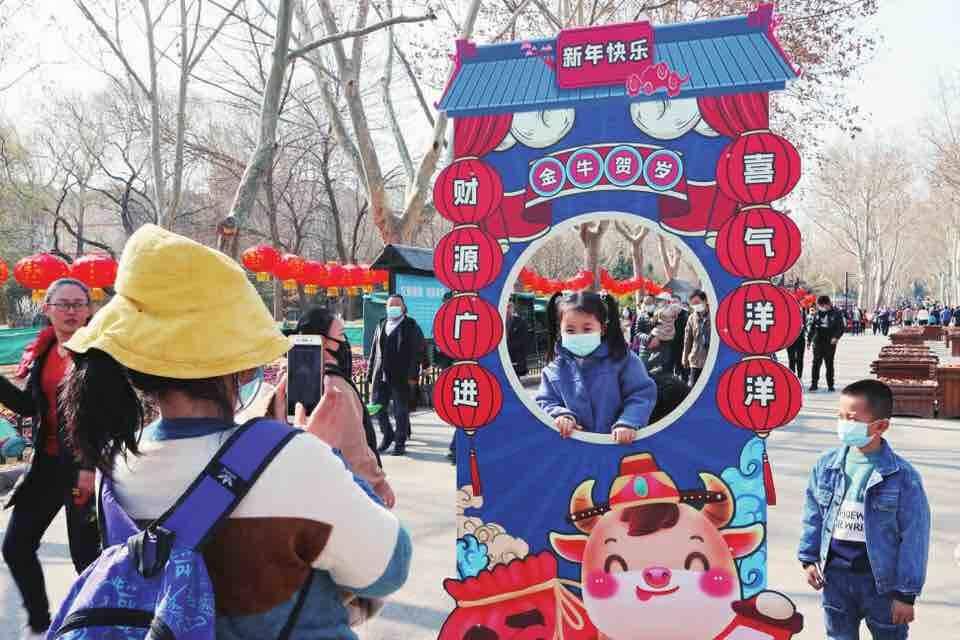 春节假期第五日 济南市4A级及以上景区纳客共19.53万人次