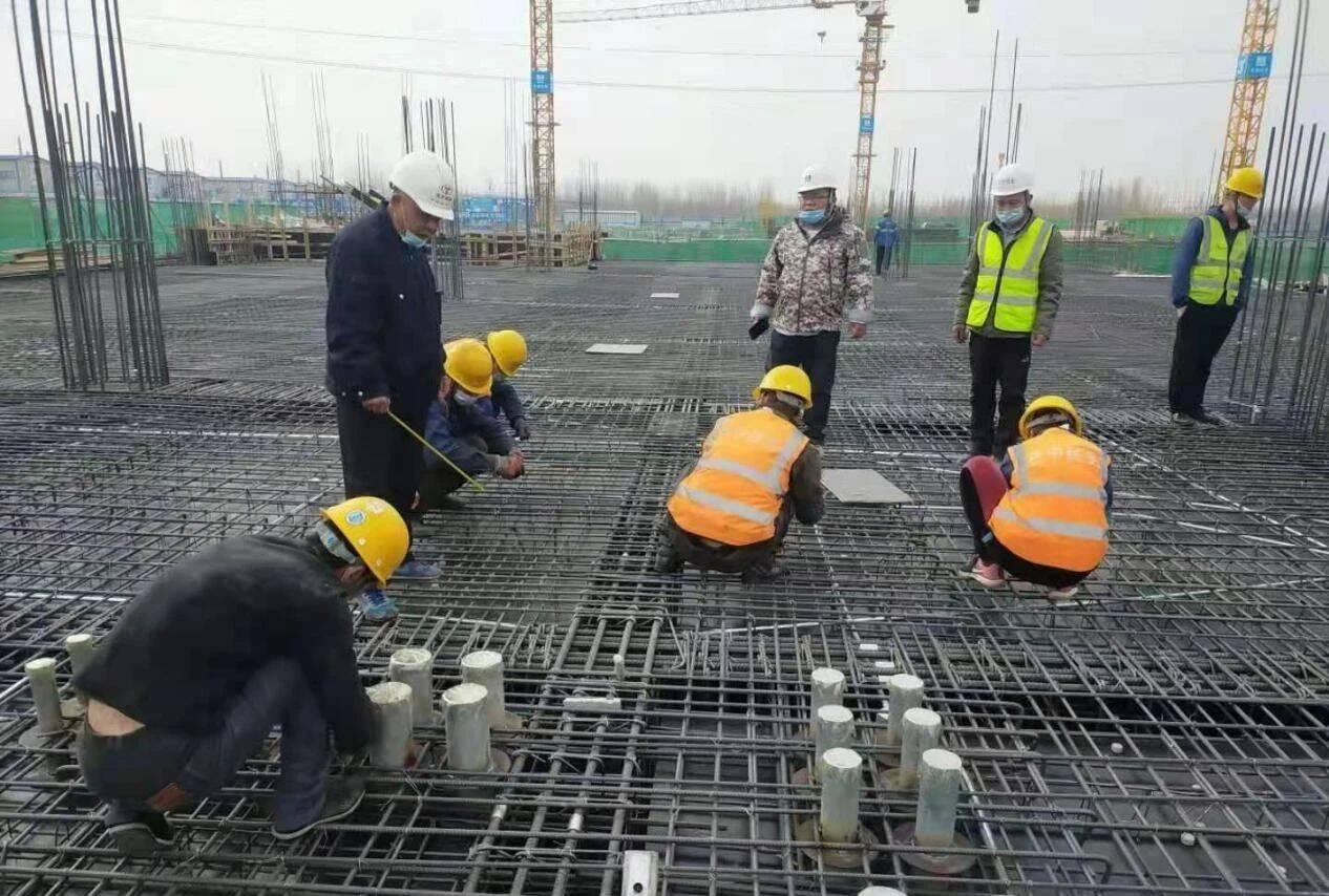 济南槐荫区1019名建设者坚守工地一线 确保项目建设稳步推进