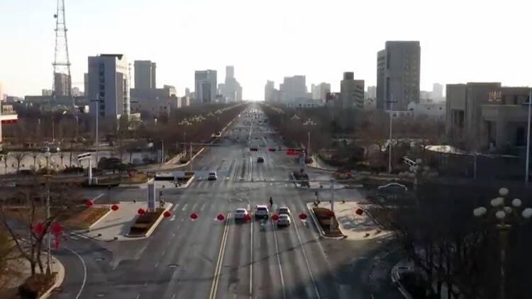 23秒丨2月22日起 东营府前大街(东二路—沂州路段)全封闭施工