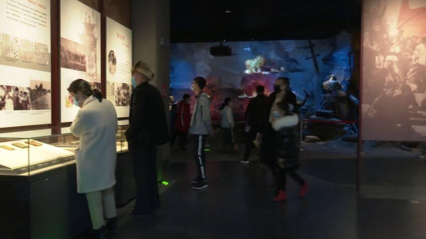 """41秒 枣庄滕州市民博物馆里感受""""文化年"""""""