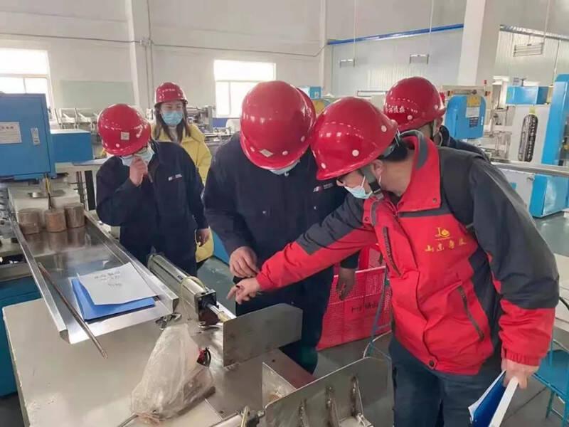 潍坊市寒亭区开展安全生产检查 全面服务企业复工复产