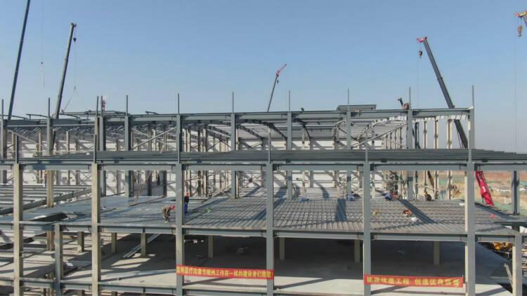 60秒|节后开工忙潍坊临朐加快重点项目建设 开足马力赶进度