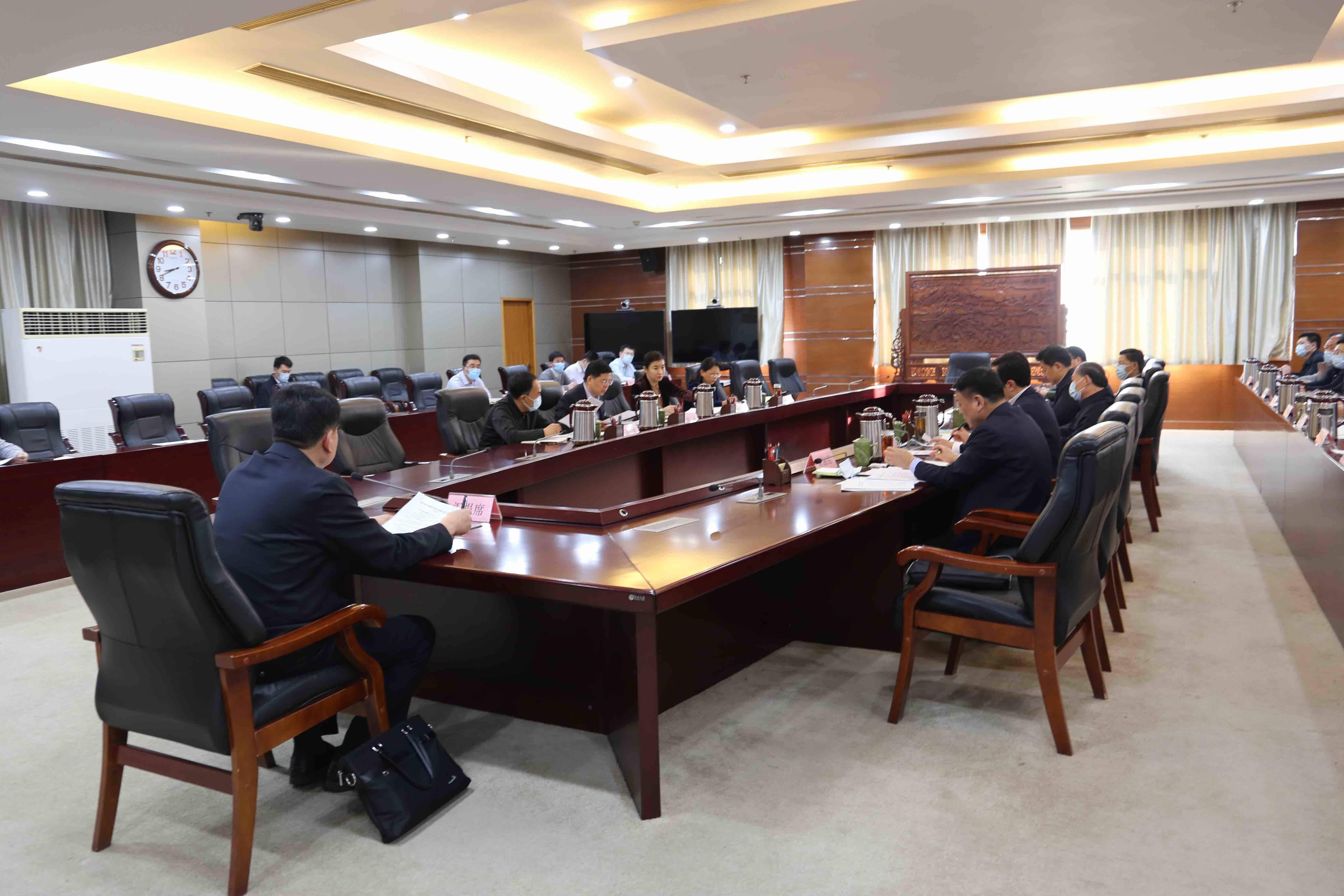 枣庄市委常委会召开会议