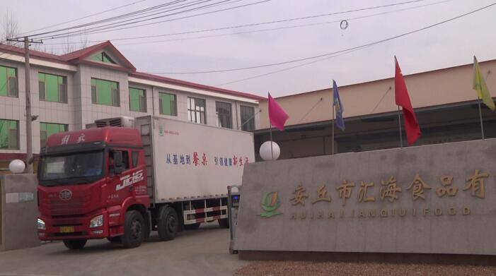 安丘市汇海食品有限公司总经理贾国亮:依托精深加工 打造农产品发展新优势