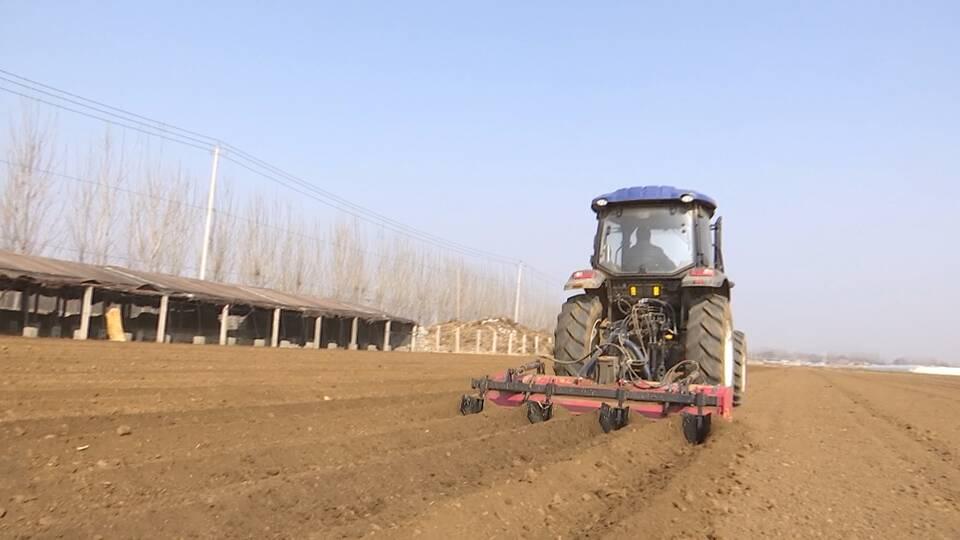 37秒丨济宁泗水县3.5万亩马铃薯忙播种