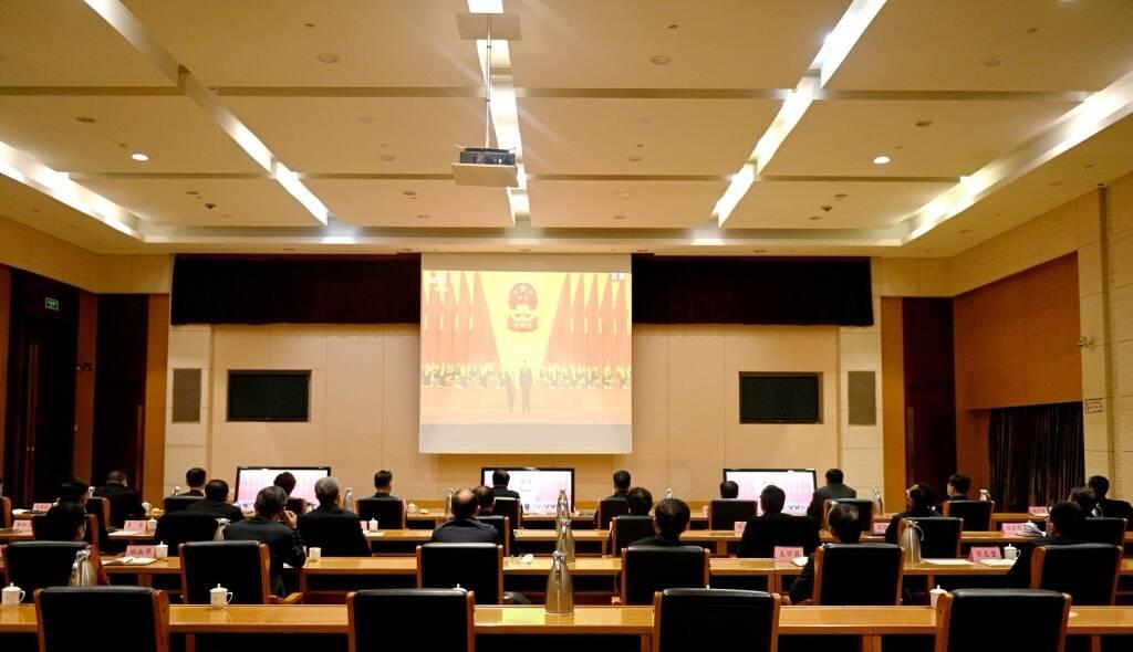淄博市组织收听收看全国脱贫攻坚总结表彰大会