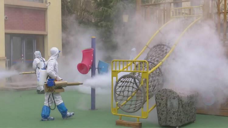35秒|潍坊昌邑全面做好疫情防控工作确保顺利开学