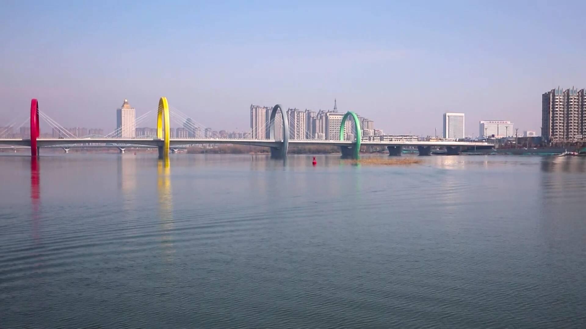 52秒|春风融融 泛舟沂河 临沂沂水市民体验亲水游玩好去处