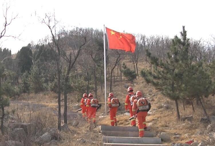 66秒|潍坊安丘:消防员护林员24小时值班备勤 筑牢森林防火墙