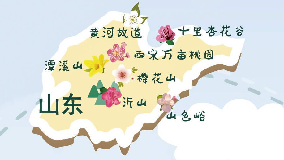 山东这七大景区花海是热门推荐观赏地