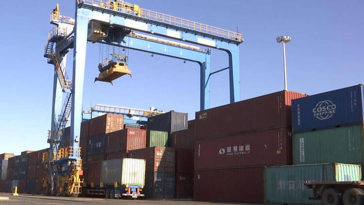 66秒|山东港口潍坊港吞吐量再创新高