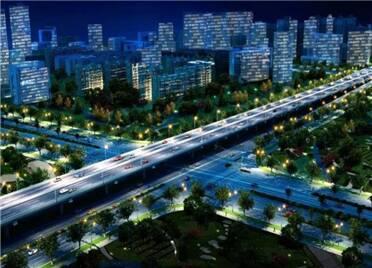 绿化管线加速迁 宝通街快速路(高新区段)清障有序推进