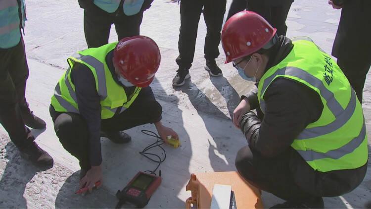 55秒│严抓安全生产 潍坊昌邑要求建筑工程项目审核达标一个开工一个