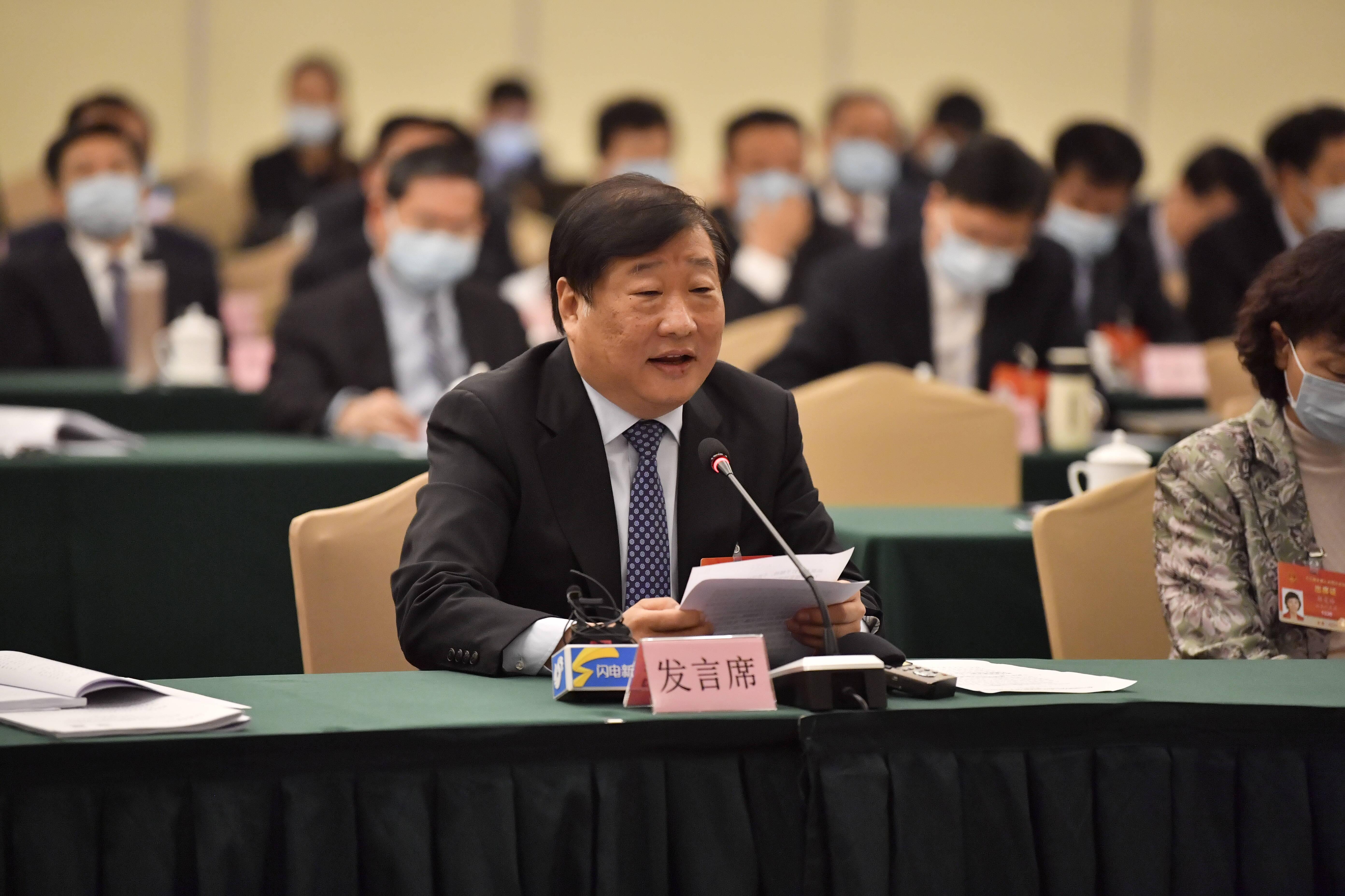 全国人大代表谭旭光:要坚持加大前沿技术的研发投入