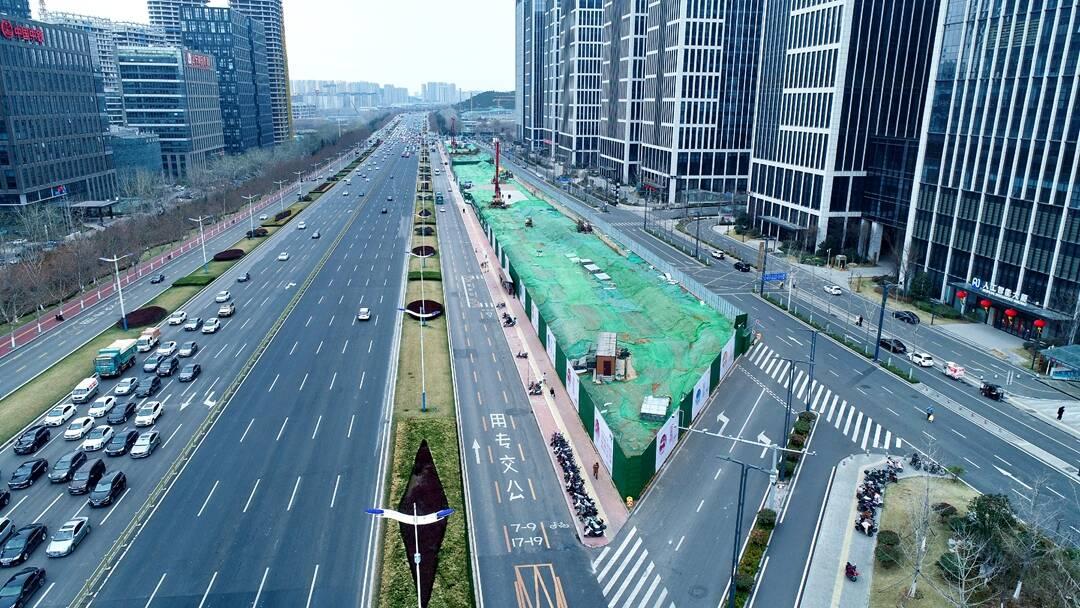 济南地铁4号线全面开工!进度如何,堵不堵车?视频里有答案
