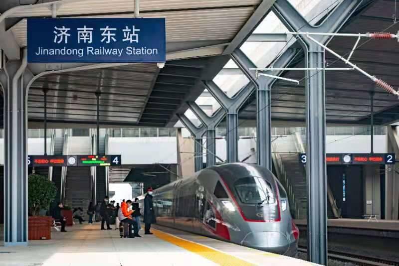 """最快1小时40分 烟台至济南间开行早晚""""双向直达""""高铁列车"""