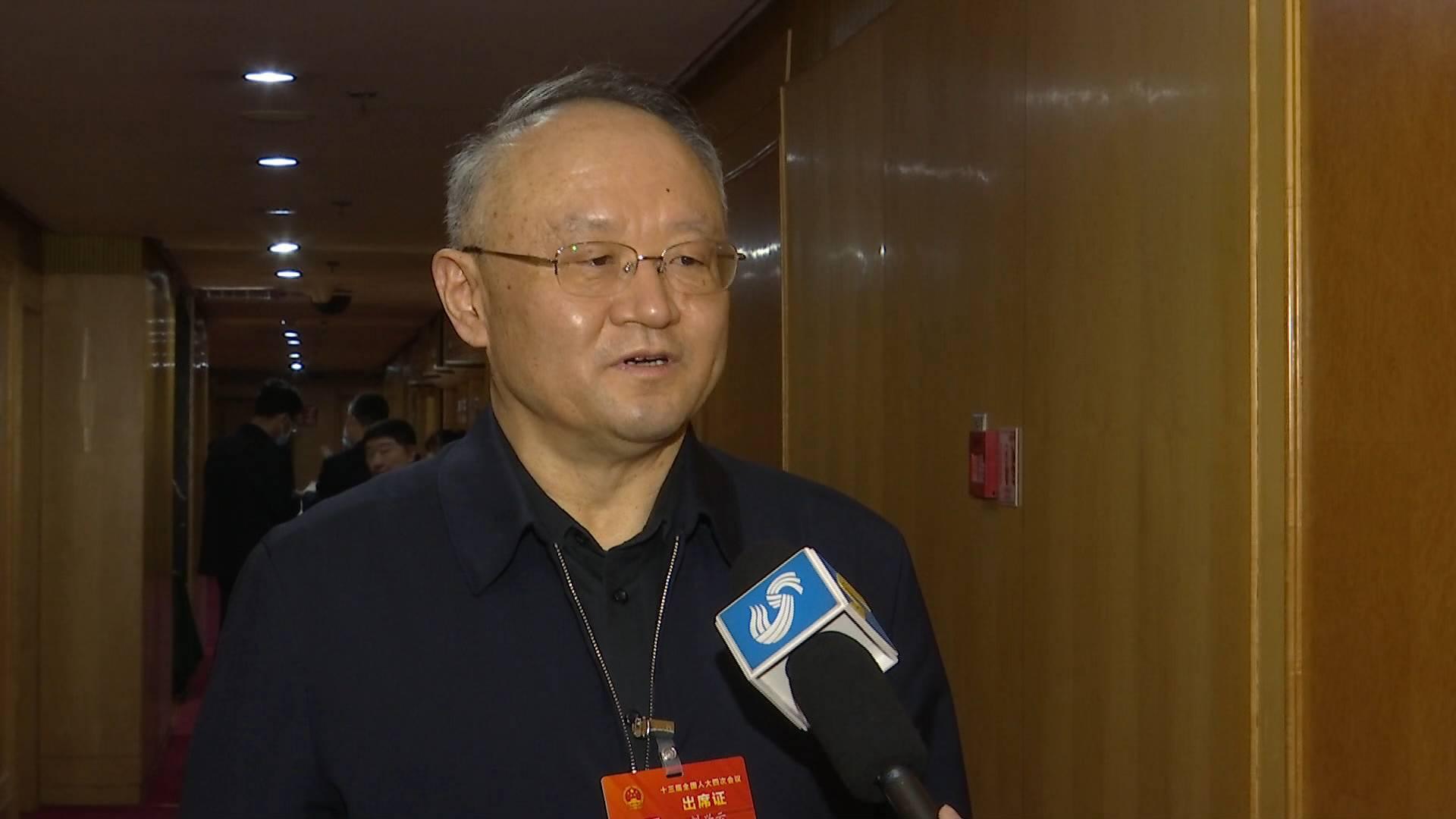 全国人大代表刘兴云:进一步激活体制机制 加强干部队伍培养