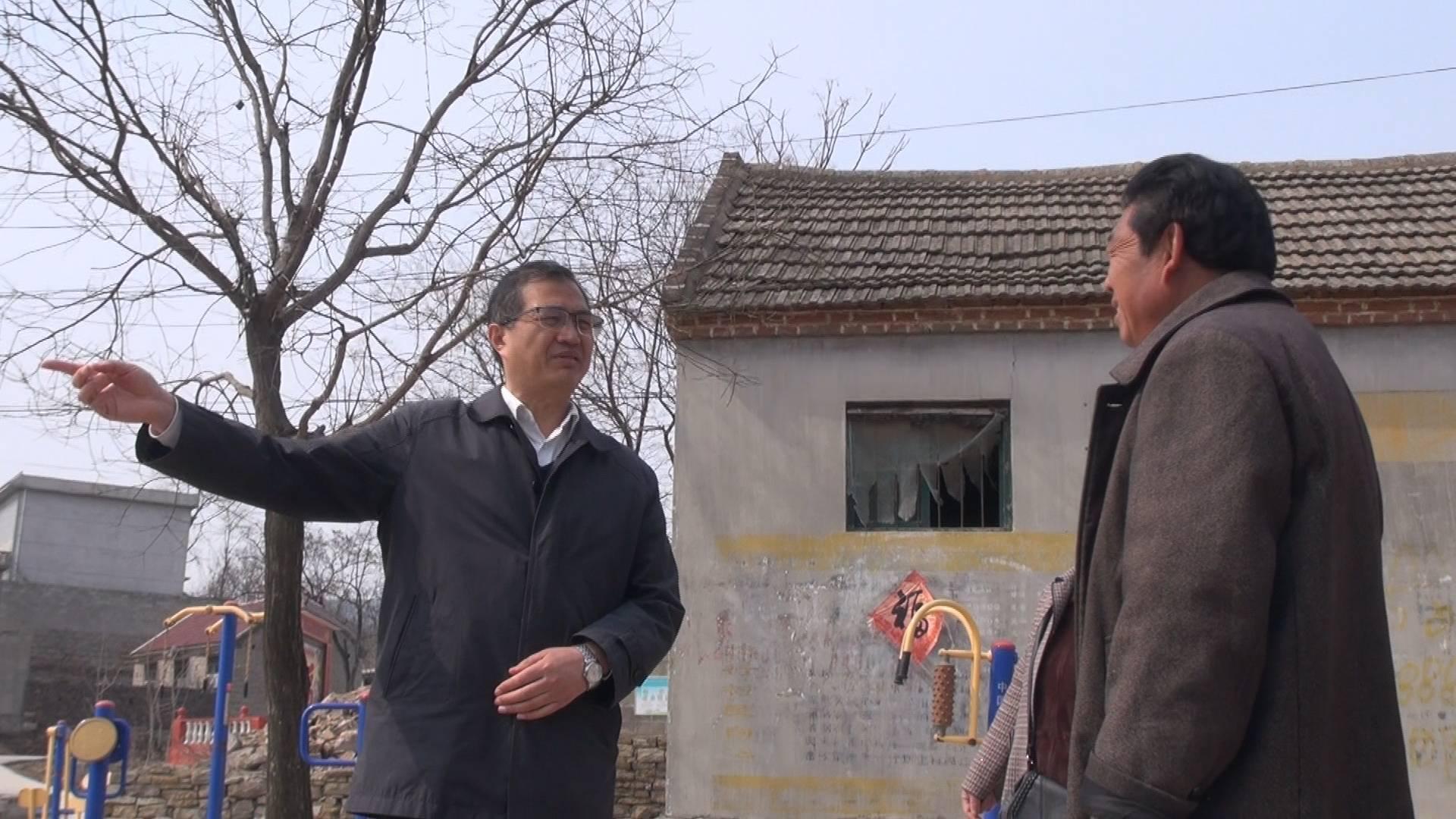 枣庄山亭彭庄村第一书记曲国强 扶贫两年成效显 集体收入翻五番