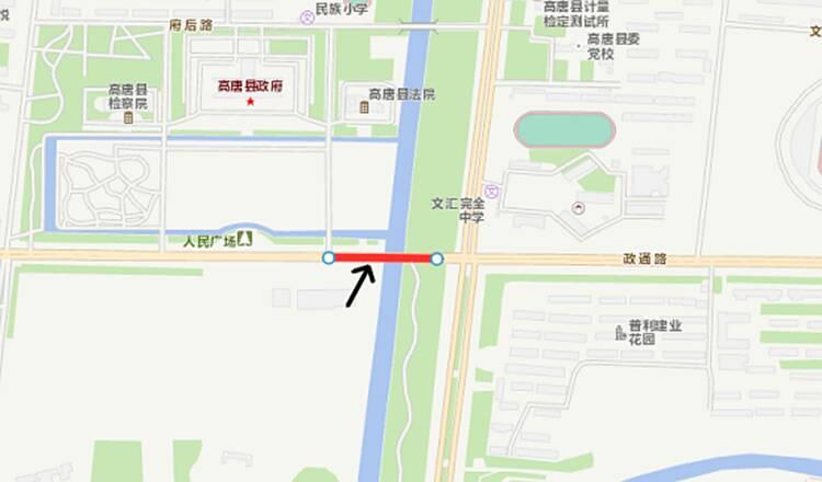 聊城高唐K1路等4条公交线路临时调整,为期3个月