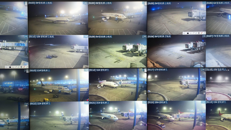 能见度1000米左右 济南遥墙国际机场运行未受沙尘影响