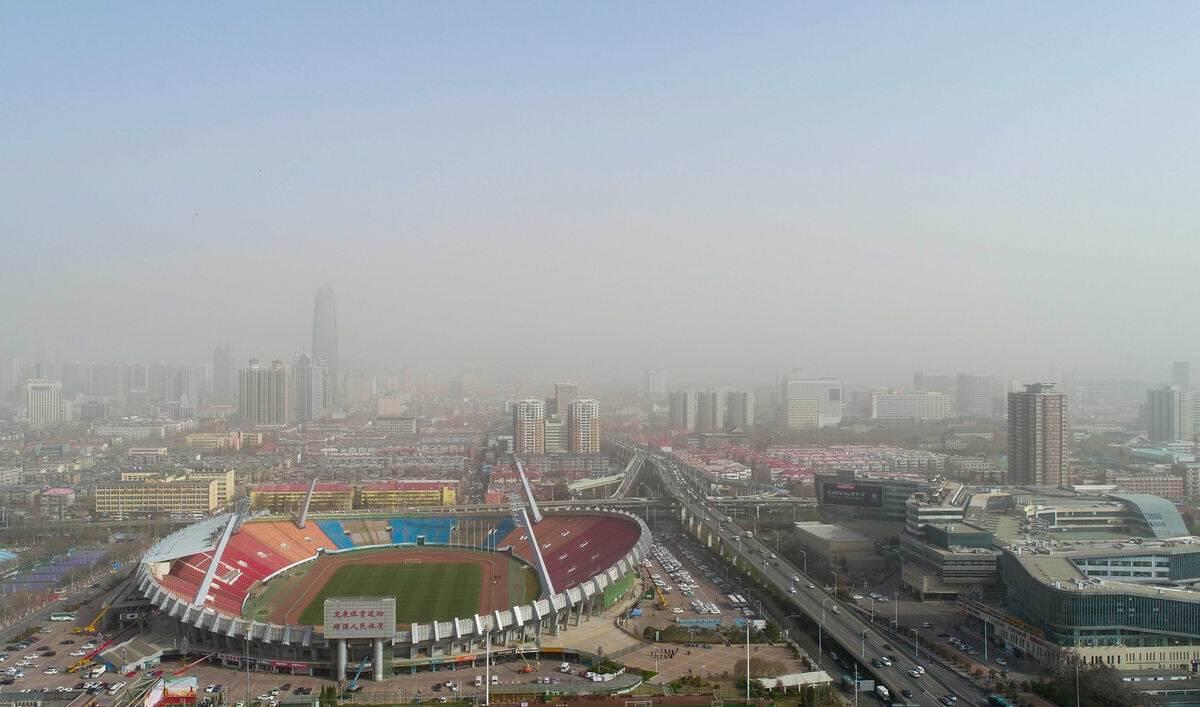 影像力|沙(sha)塵天氣持續影響山東(dong),預計19日後結束