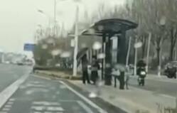 36秒|冷空气还未撤退!淄博多个区县降下冰粒+小雨