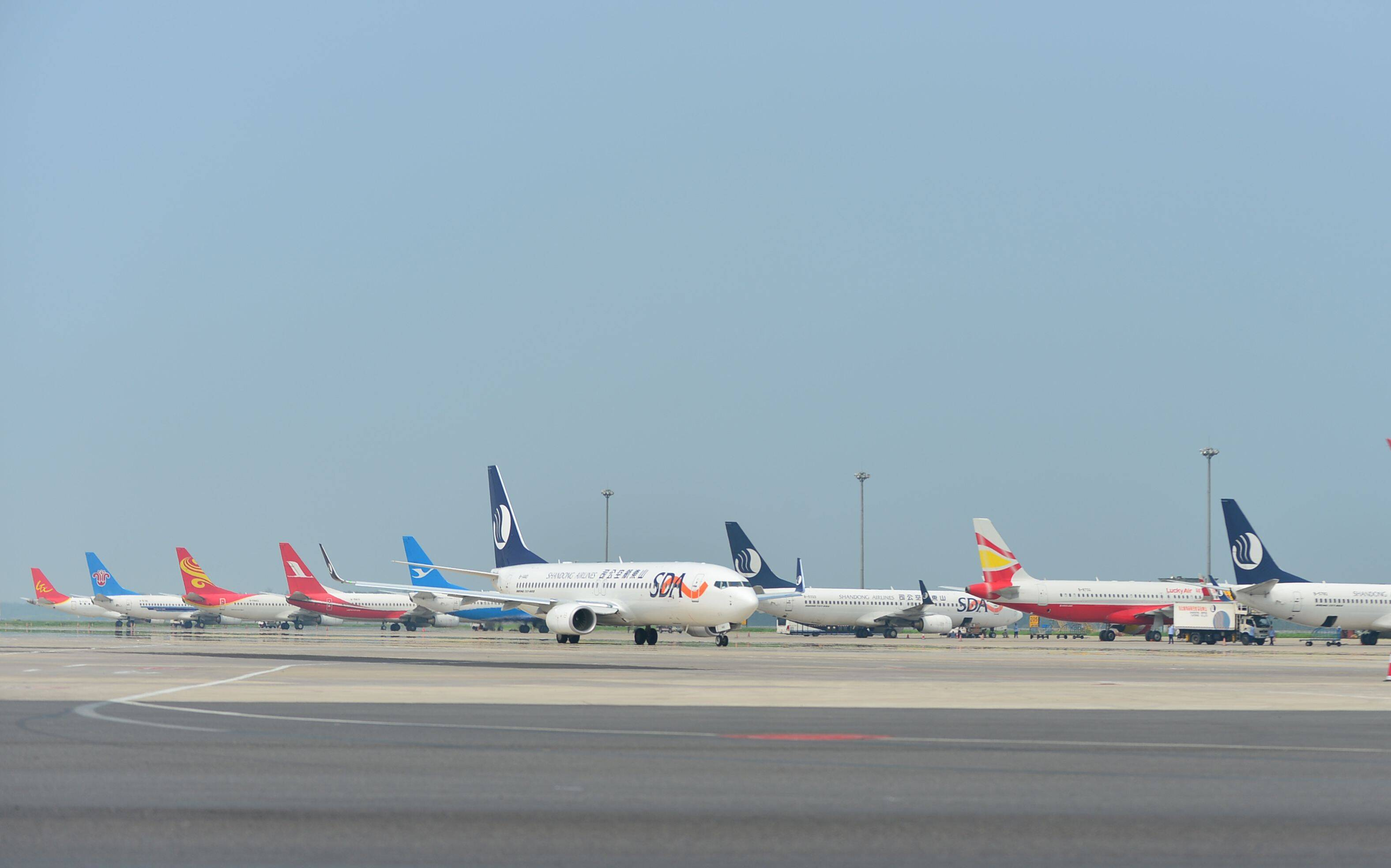 济南机场2021年夏秋航季新增航点4个 加密航线20余条