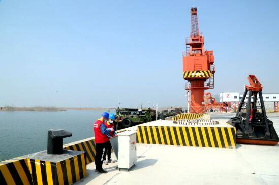 泰安首个!东平港口岸电系统开启低碳生态发展模式