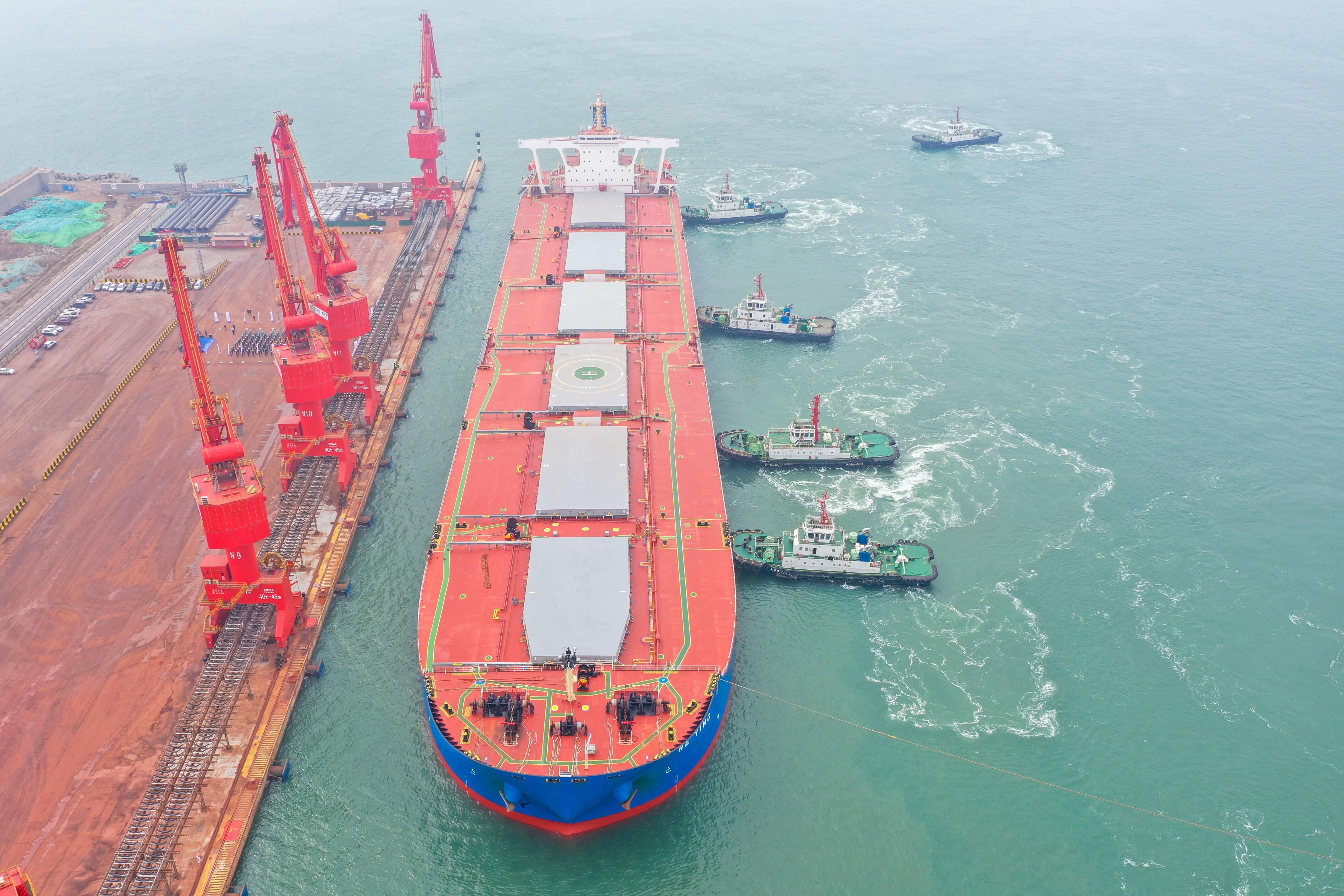 山东港口日照港实现首季开门好  一季度完成货物吞吐量同比增长8.4%
