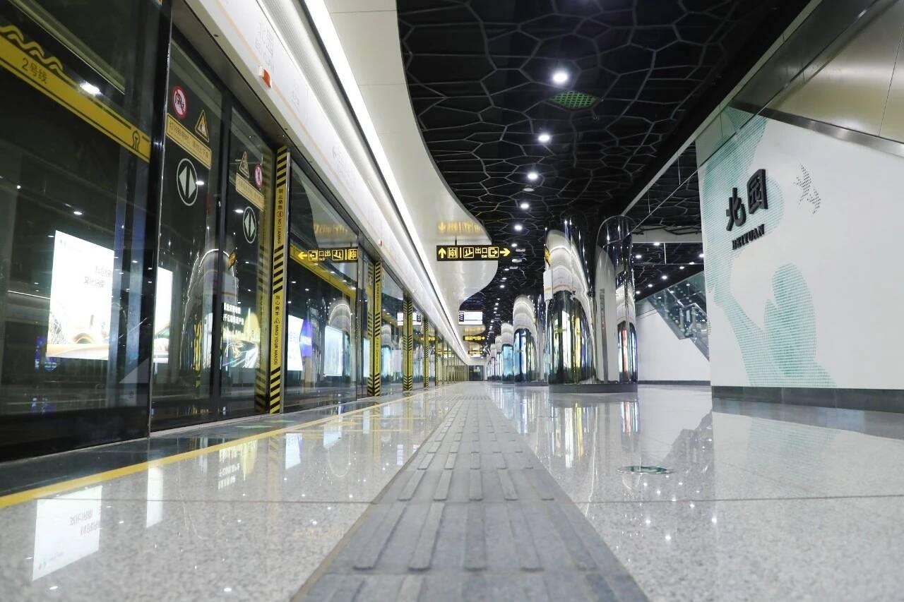 最新!济南地铁2号线通过初期运营前安全评估