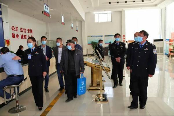 曲阜市公安局开展全市政法机关开放日活动