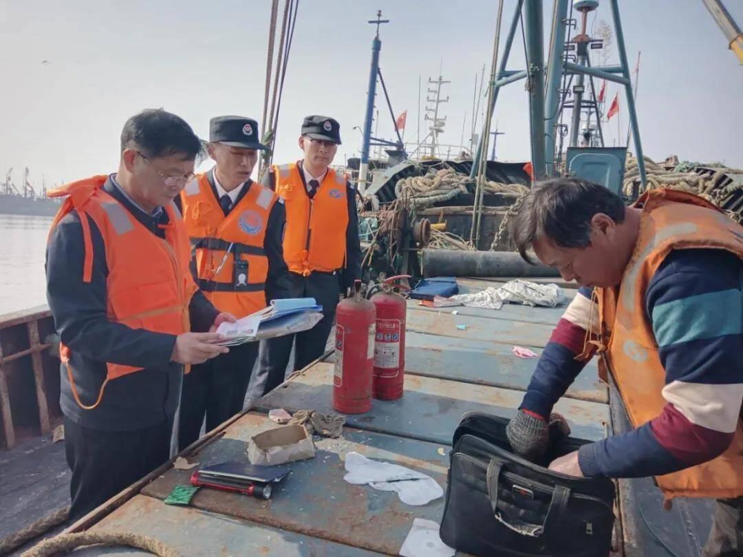 查隐患 抓整改!日照全力守护渔业生产安全