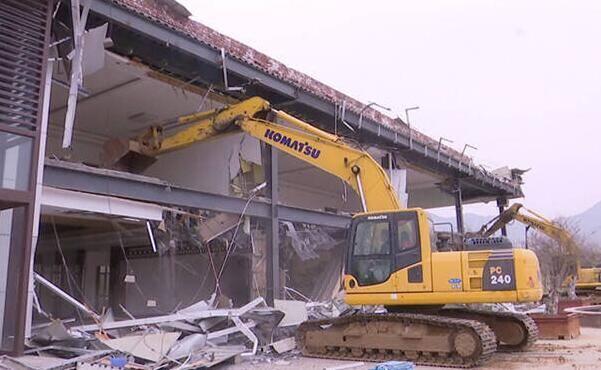 问政追踪|滨州邹平芽庄水库大坝上建起售楼处 力争2天之内拆除干净