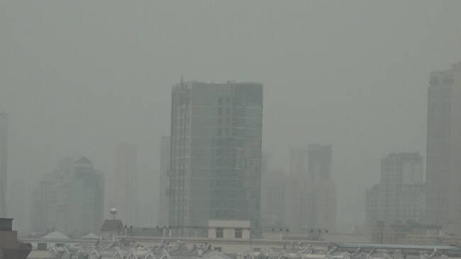"""41秒丨潍坊空气质量指数""""爆表"""" 浮尘过后天气转好"""