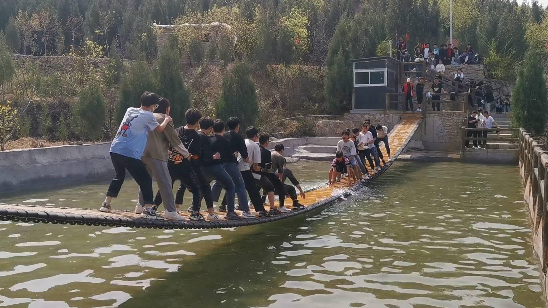 这个清明假期有着落了 记者探访距济南市中心最近生态文娱园